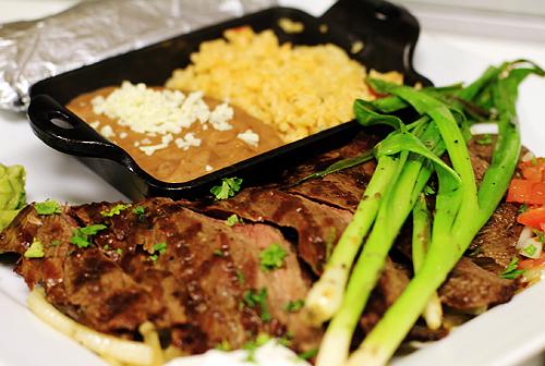 Carne Asada on The Grill Carne Asada
